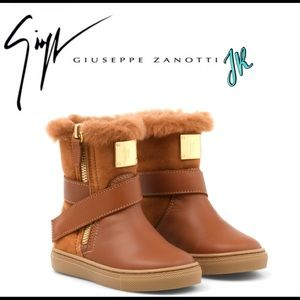 ⭐️giuseppe zanotti jr NIB designer leather boots